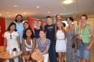 Студенты французского отделения (1 курс) на летних языковых курсах (Кан, Франция 2013 г.)
