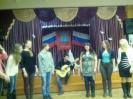 Выступлений студентов на празднике иностранных языков в МБОУ СОШ №18